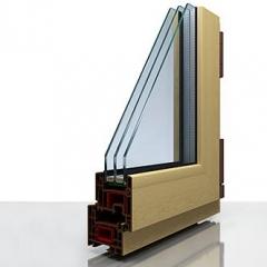 Ламинированные окна ПВХ